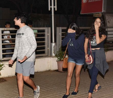 Akshay Kumar's Son Aarav Snapped with his girlfriends last night
