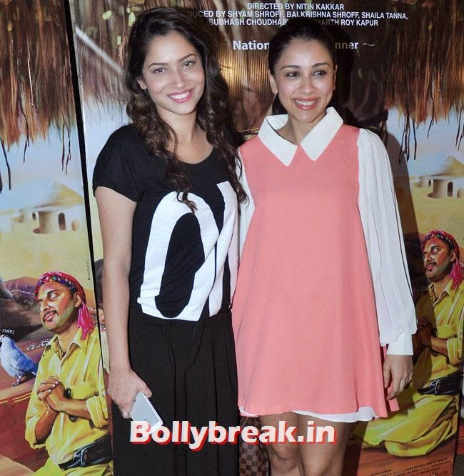 Ankita Lokhande and Amrita Puri, Vidya Balan, Tabu at Special Screening of movie 'Filmistaan'