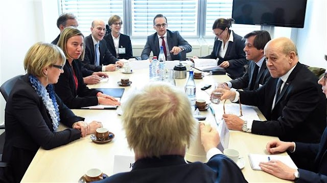 European Union foreign ministers fail to agree on new sanctions against Iran