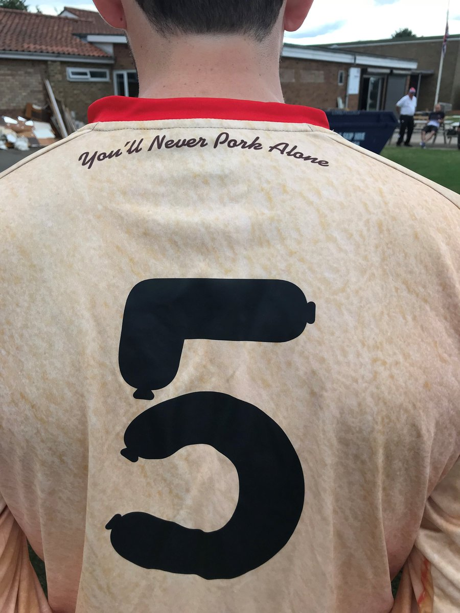 Bedale AFC unveil wurst kit of season with hot dog-themed strip