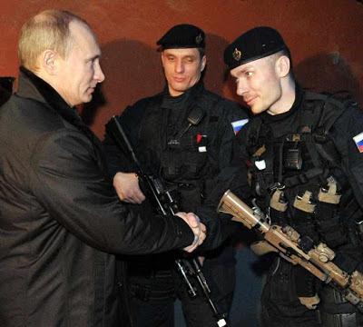 Putin precisa das armas dos europeus