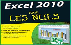 """Livre PDF """" Excel 2010 Pour Les Nuls """""""