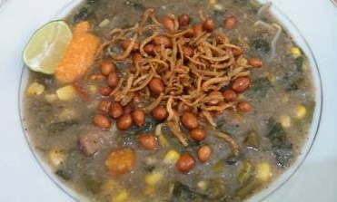 Bubur Pedas Khas Sambas Kuliner Asli Kalimantan Barat