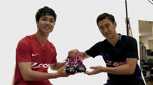 Cầu thủ Công Phượng sang thi đấu cho đội tuyển Mito Hollyhock theo dạng cho mượn