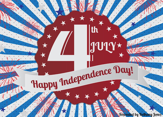 happy 4th of july animated