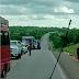 Índios realizam protesto para reivindicar conclusão da PE-452 no Sertão