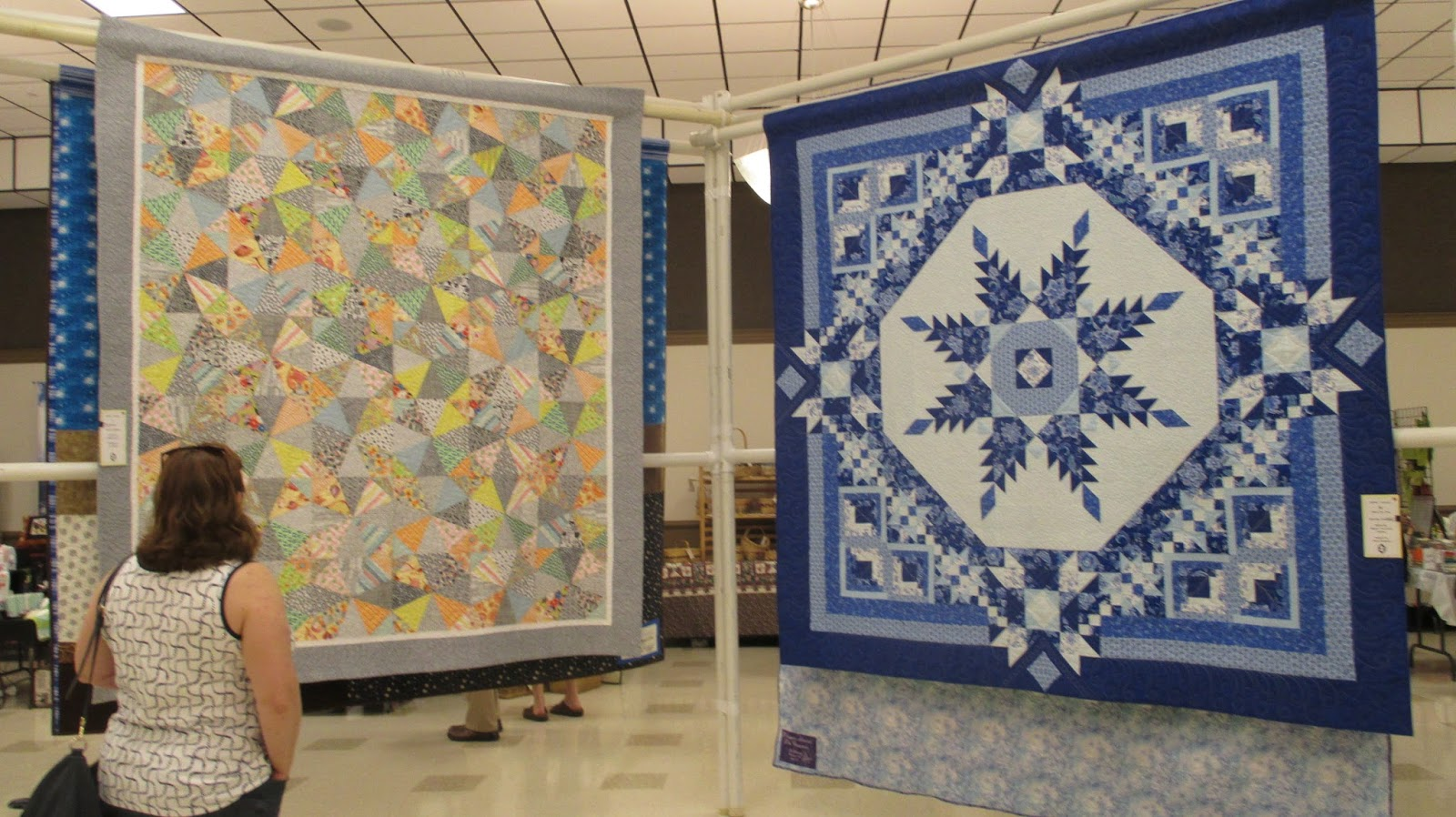 The Literate Quilter: 2017 CAMEO Quilt Show: Quilted Treasures : quilted treasures - Adamdwight.com