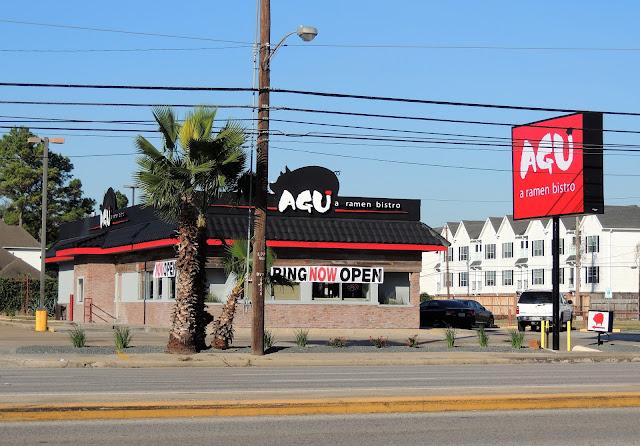 AGU a ramen bistro now open at 9310 Westheimer Rd, Houston, TX 77063