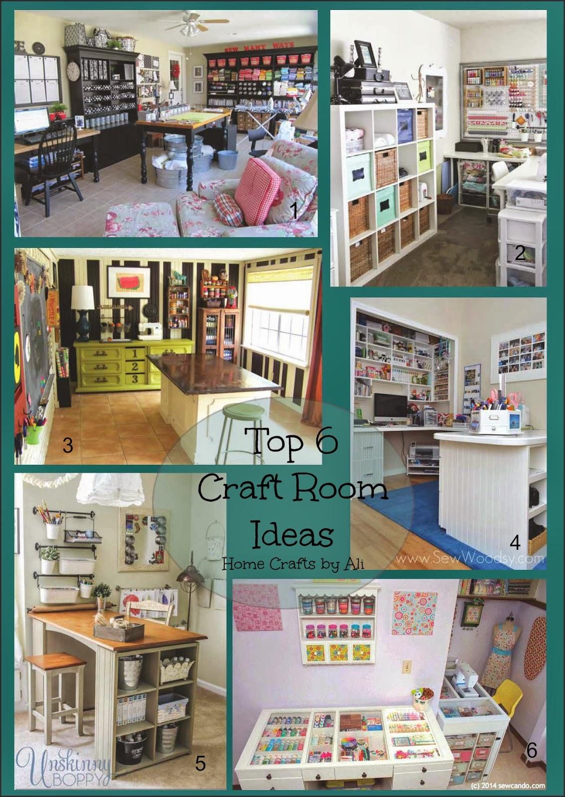Best Craft Room Designs: Top 6 Craft Room Ideas