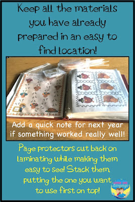 Making Planning Easier- Tips for SLPs from Looks-Like-Language