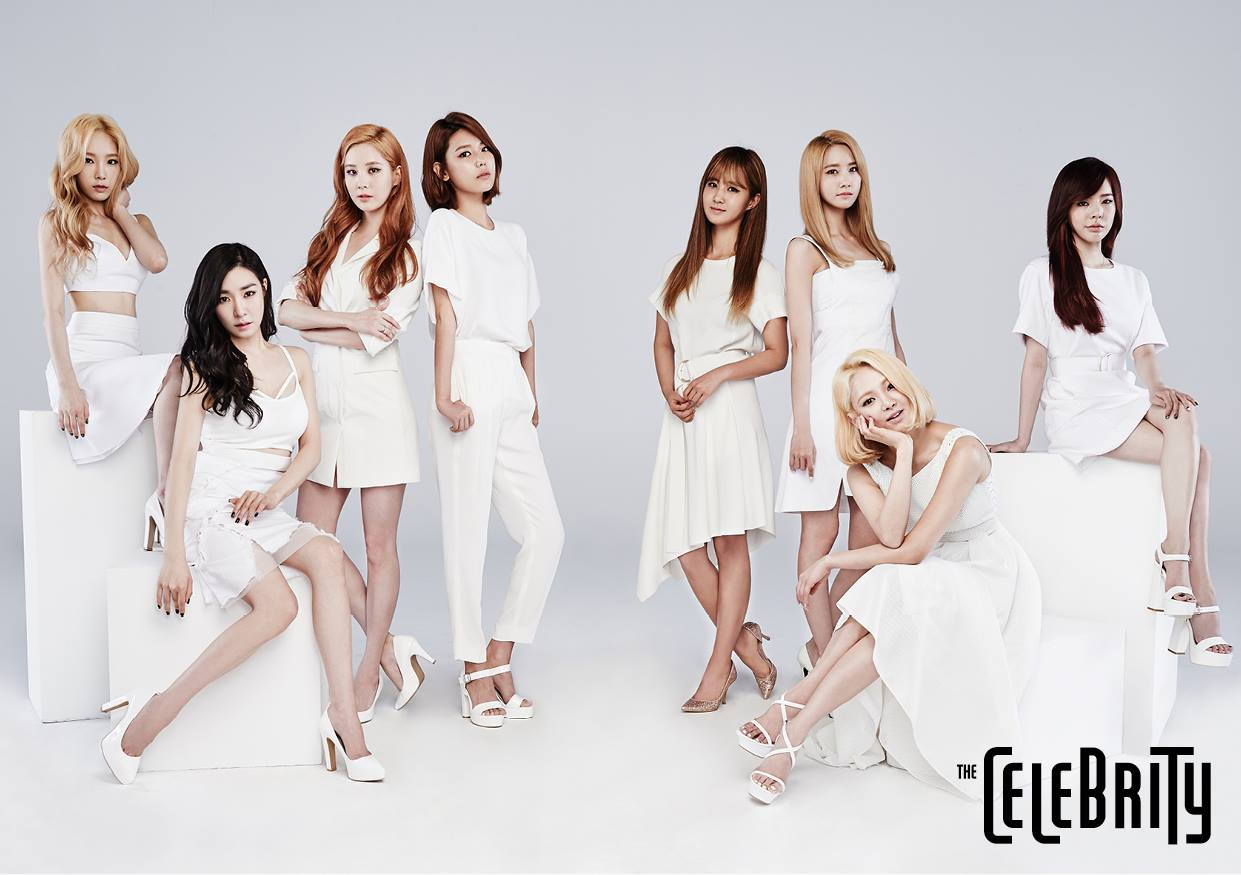 More of Girls' Generation from 'The Celebrity' magazine's ...