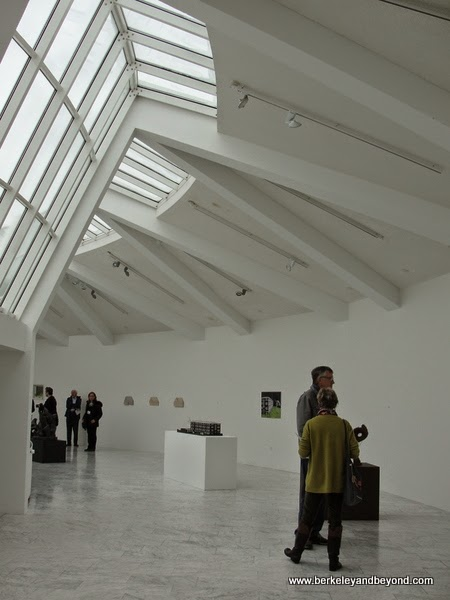 interior of Asmundarsafn sculpture gallery in Reykjavik, Iceland