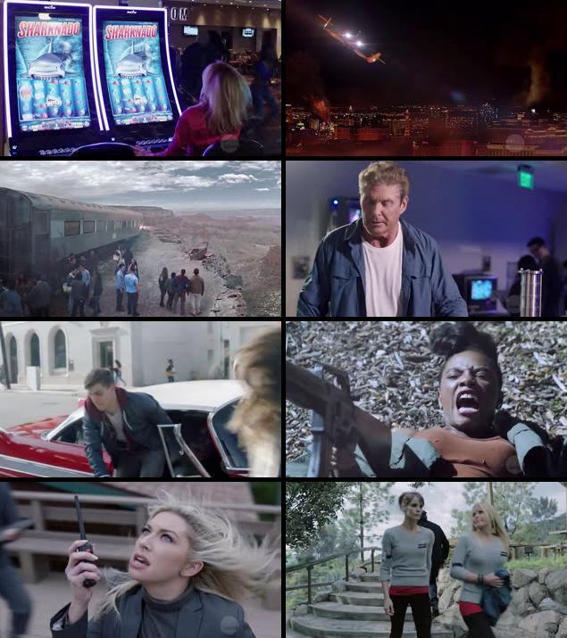 Sharknado 4 The 4th Awakens 2016 English HDRip XViD