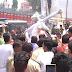 कानपुर - बीजेपी कार्यकर्ताओं ने किया आजम खान का पुतला दहन