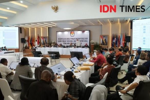 Jokowi Menang 85,6 Juta Suara! Ini Data Lengkap 34 Provinsi dan 130 PPLN