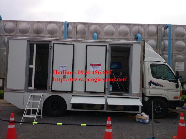 Xe Hyundai chụp Xquang HD120s