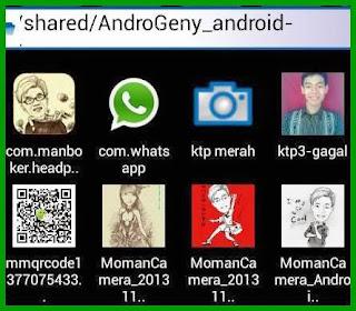 Cara masukin gambar foto ke emulator Android Genymotion mudah