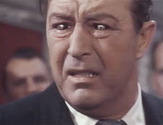 Ray Milland as James Xavier, the Man with the X-Ray Eyes