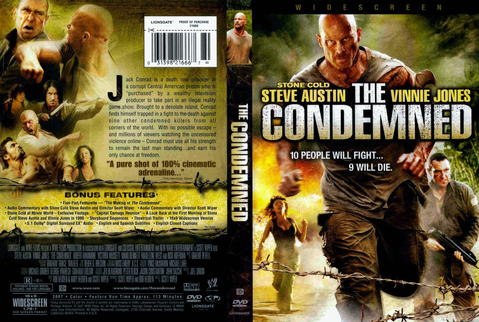 The Condemned (2007) ταινιες online seires xrysoi greek subs
