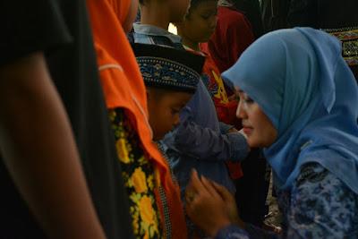 Selain Santuni Anak Yatim, Bupati Chusnunia Berharap Warga Lampung Timur Teladani Sifat Nabi