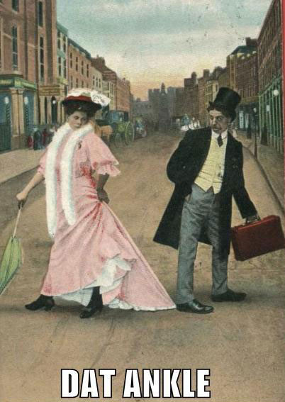 nineteenth century hussy