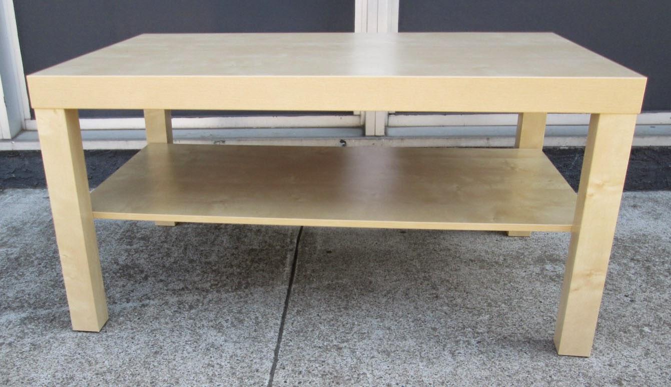 Sold Ikea Blonde Coffee Table 35