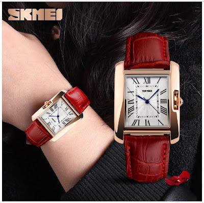 модные часы SKMEI в стиле ретро.