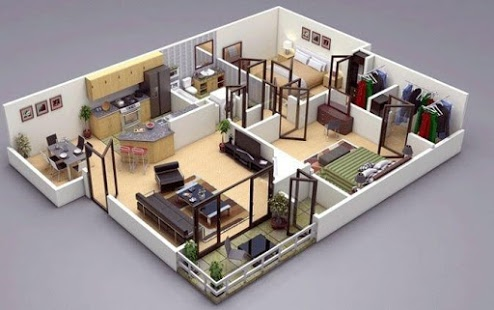 unnamed%2B%25281%2529 35 Sky View 4D American House Plan Styles Interior