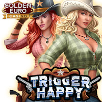 Golden Euro Casino is Giving you 10 Free Spins on New Trigger Happy from RTG
