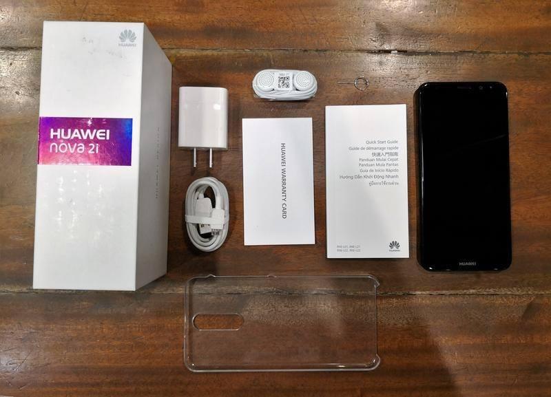 Huawei Nova 2i Retail Package