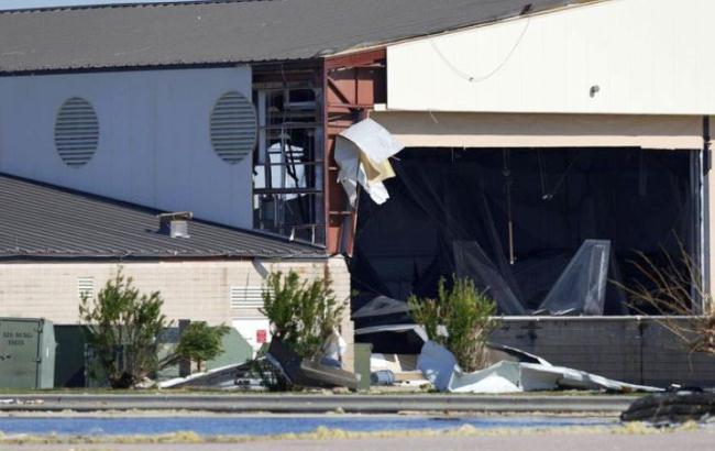 F-22 Raptor rusak akibat badai