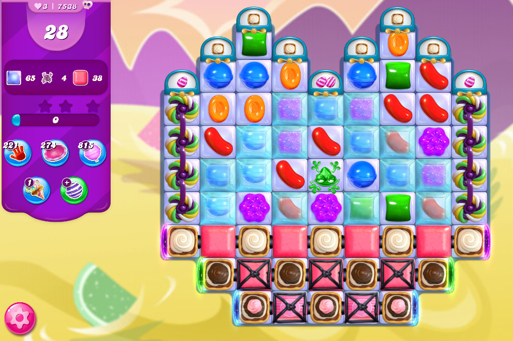 Candy Crush Saga level 7538