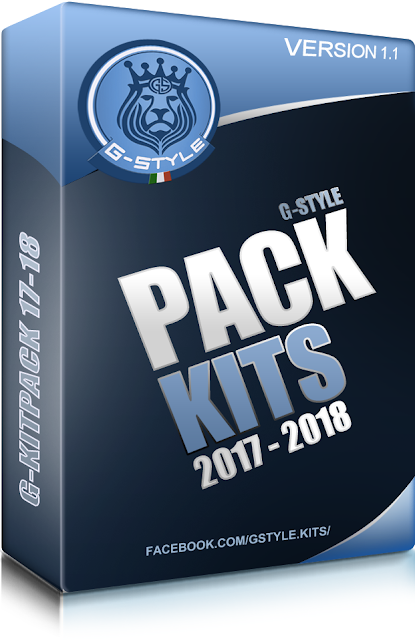 PES 2017 Kitpack 2018 V11 dari G-Style