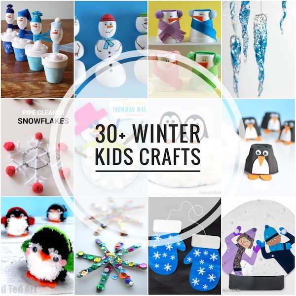January preschool theme crafts and activities