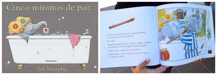 cuentos infantiles desarrollar fomentar empatia niños , cinco minutos tranquilidad jill murphy kalandraka
