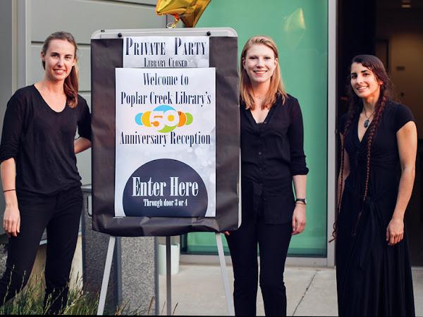 Chicago Non-Profit String Quartet: Poplar Creek Library Turns 50