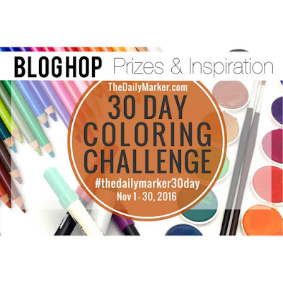 30 Day Color Challenge November 2016 Blog Hop