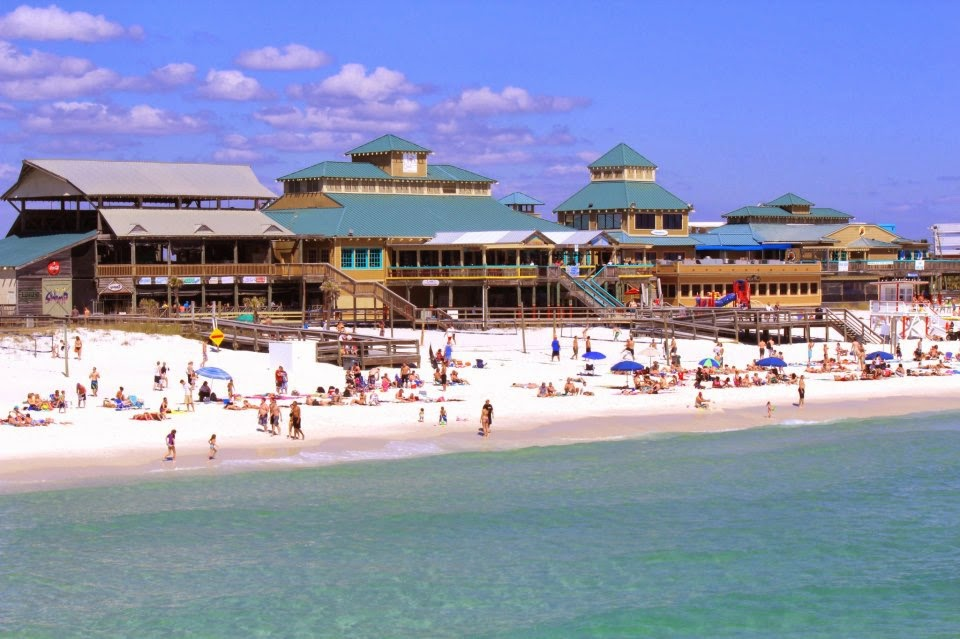 Florida Gulf Coast, Okaloosa Island Boardwalk