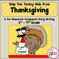 FREE Thanksgiving Writing Assignment
