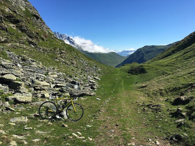 Col du Sabot summit