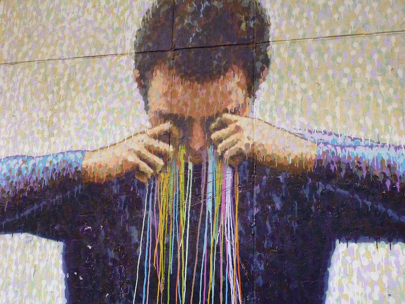 Wandmalerei: Viele Tränen