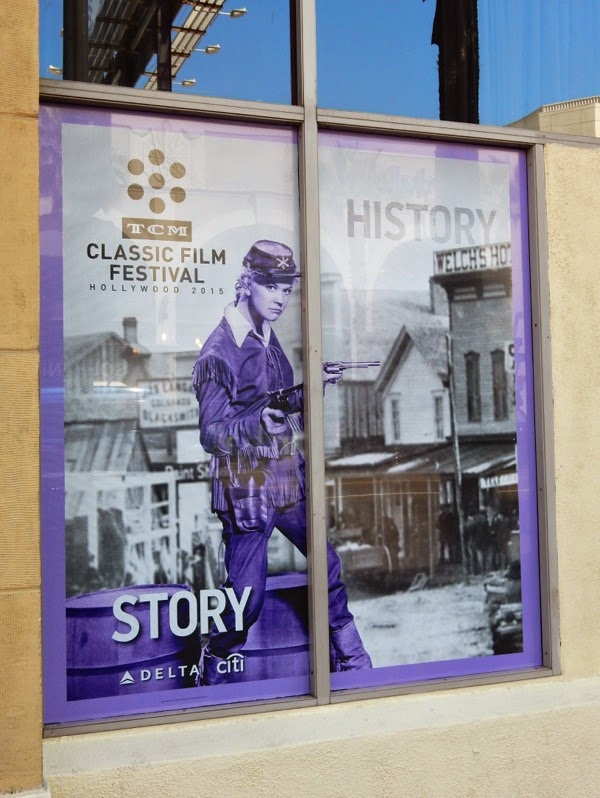 Calamity Jane TCM Classic Film Festival window poster