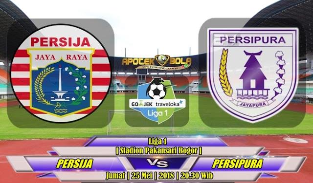 Prediksi Persija Jakarta vs Persipura Jayapura 25 Mei 2018