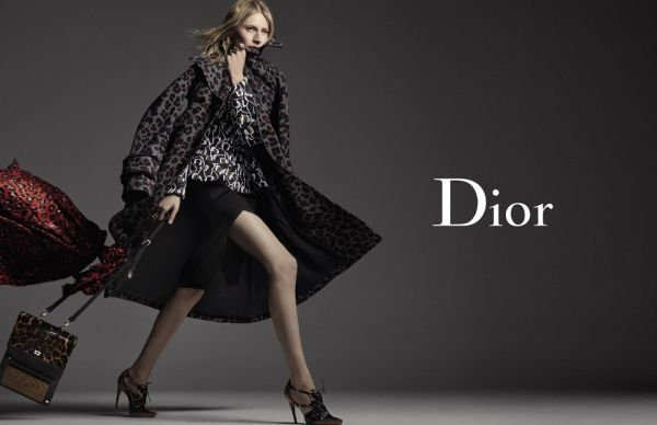 Eniwhere FAshion - Dior - Julia Nobis