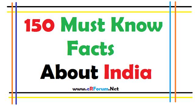 150-must-know-facts-about-India