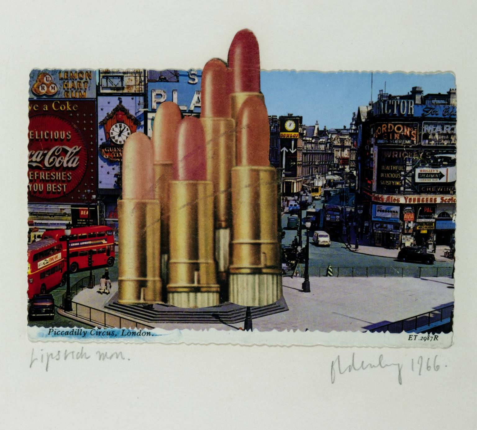 Color And Design Lipsticks In Piccadilly Circus