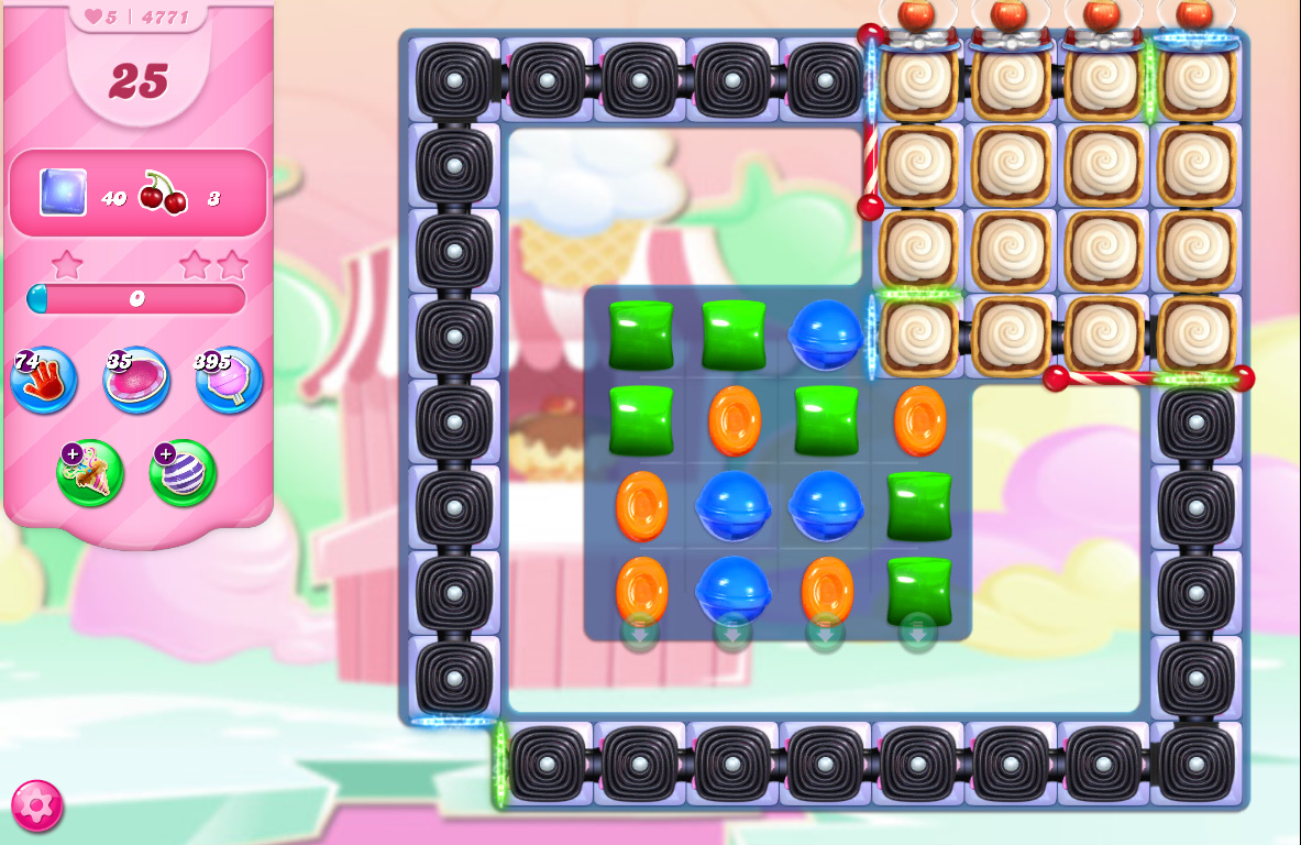 Candy Crush Saga level 4771