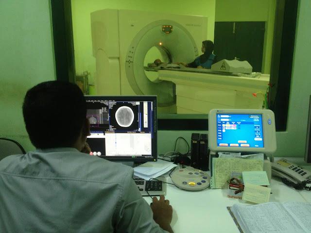 CT Scan Kepala bayi