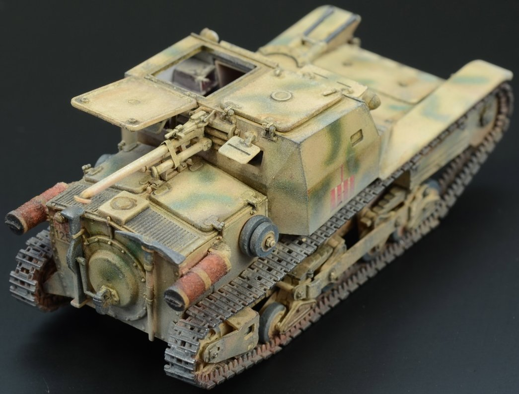the modelling news  clayton builds the 1  35 bronco cv3  33 tankette serie ii  u2013 early production