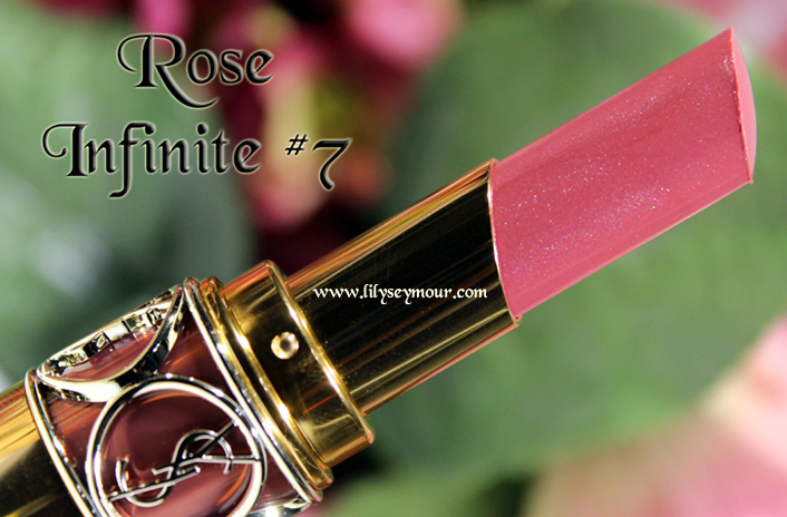 YSL Rose Infinite #7 Lipstick